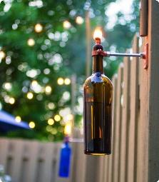Kerajinan Tangan Dari Botol Bekas - Lampu Botol Bekas