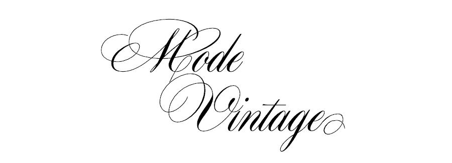 Mode Vintage