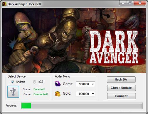 Dark Avneger Hack Tool