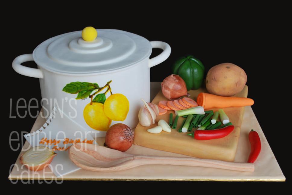 Penang Wedding Cakes By Leesin Cooking Pot Cake