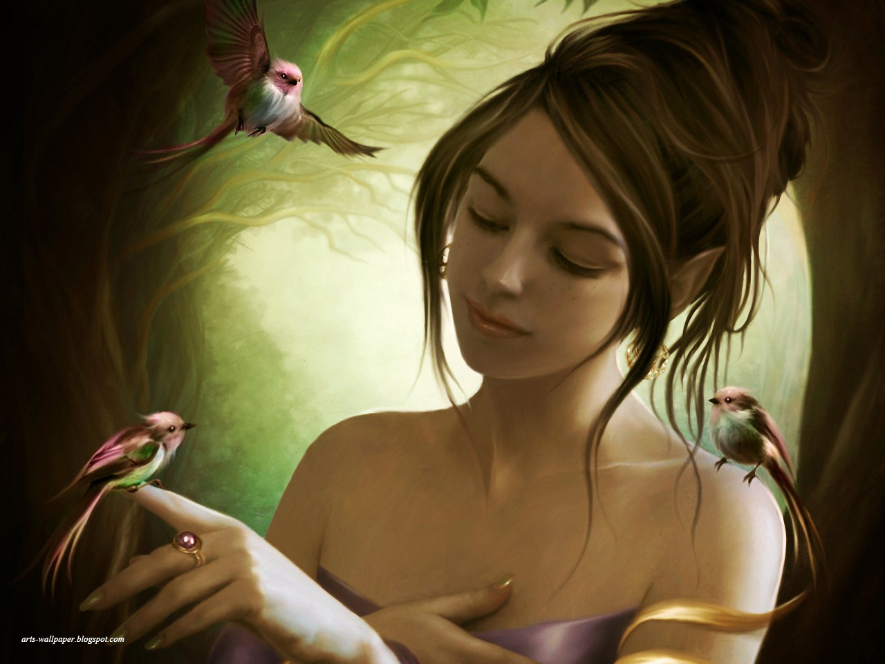 Сказочные девушки фото на аву