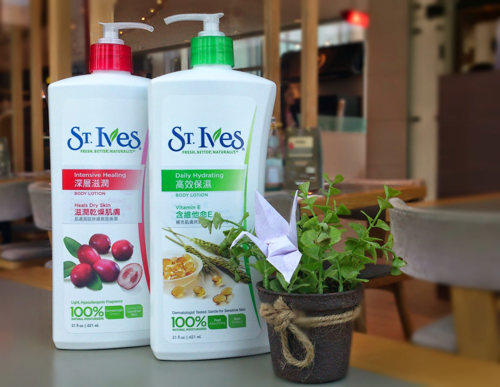 >> 夏季用的潤膚露*聖艾芙 St. Ives 潤膚露系列(維他命E+高效保濕)