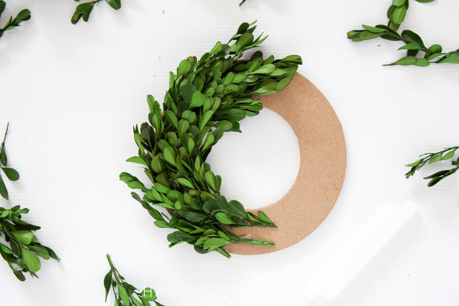 boxwood leaves mini boxwood wreath tutorial pretty providence