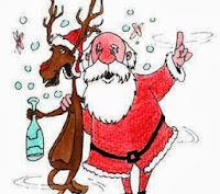 Papa Noel borracho
