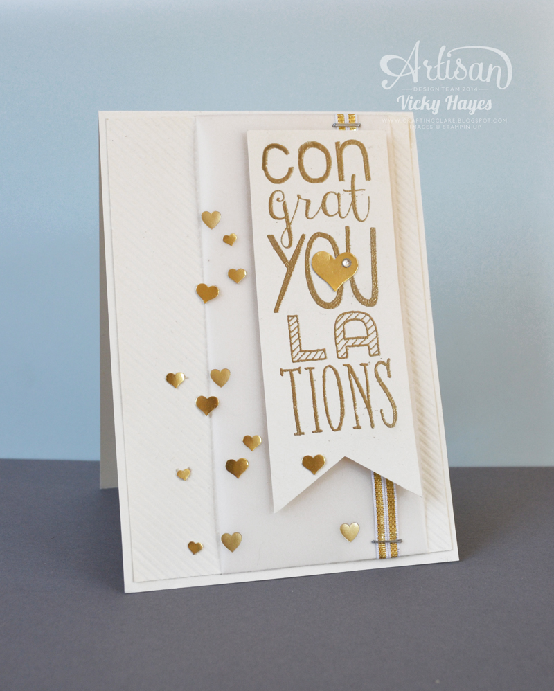 selected Stampin' Up products on special offer for one week only!