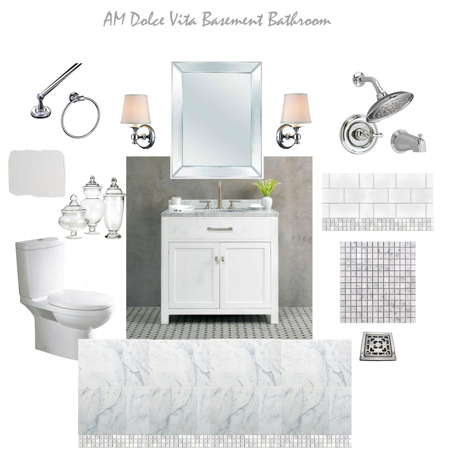 Am dolce vita october 2011 for Bathroom design board
