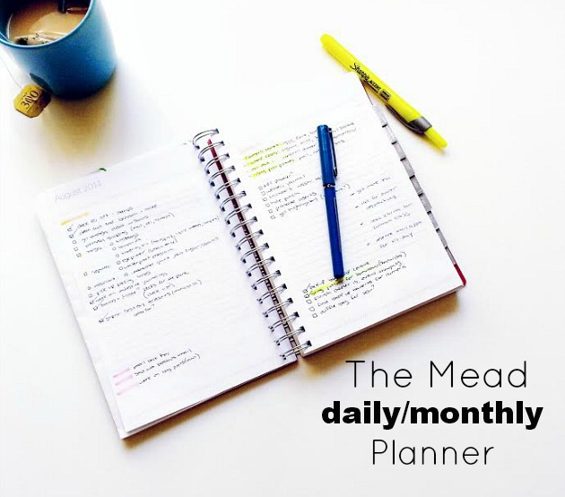 my new daily planner seaweed kisses