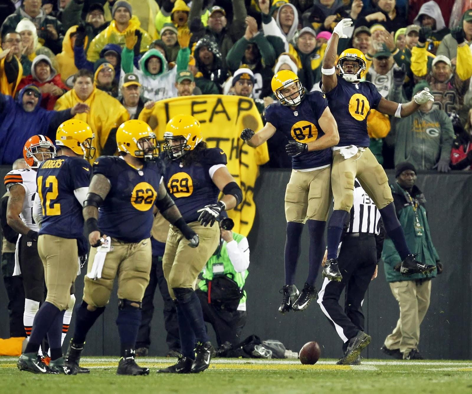 Packers Throwbacks