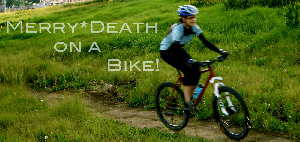 Merry*Death on a Bike!
