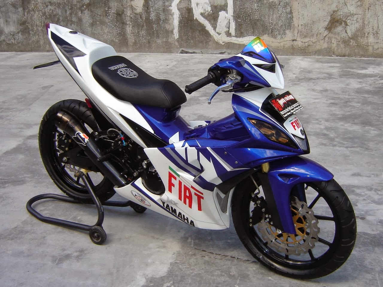 Modifikasi Motor MX Sport Fighter | Tabloid Ototrend