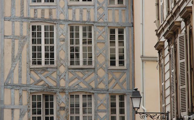 Maison à colombages à Troyes
