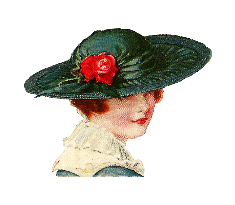 vintage hat clipart - photo #1
