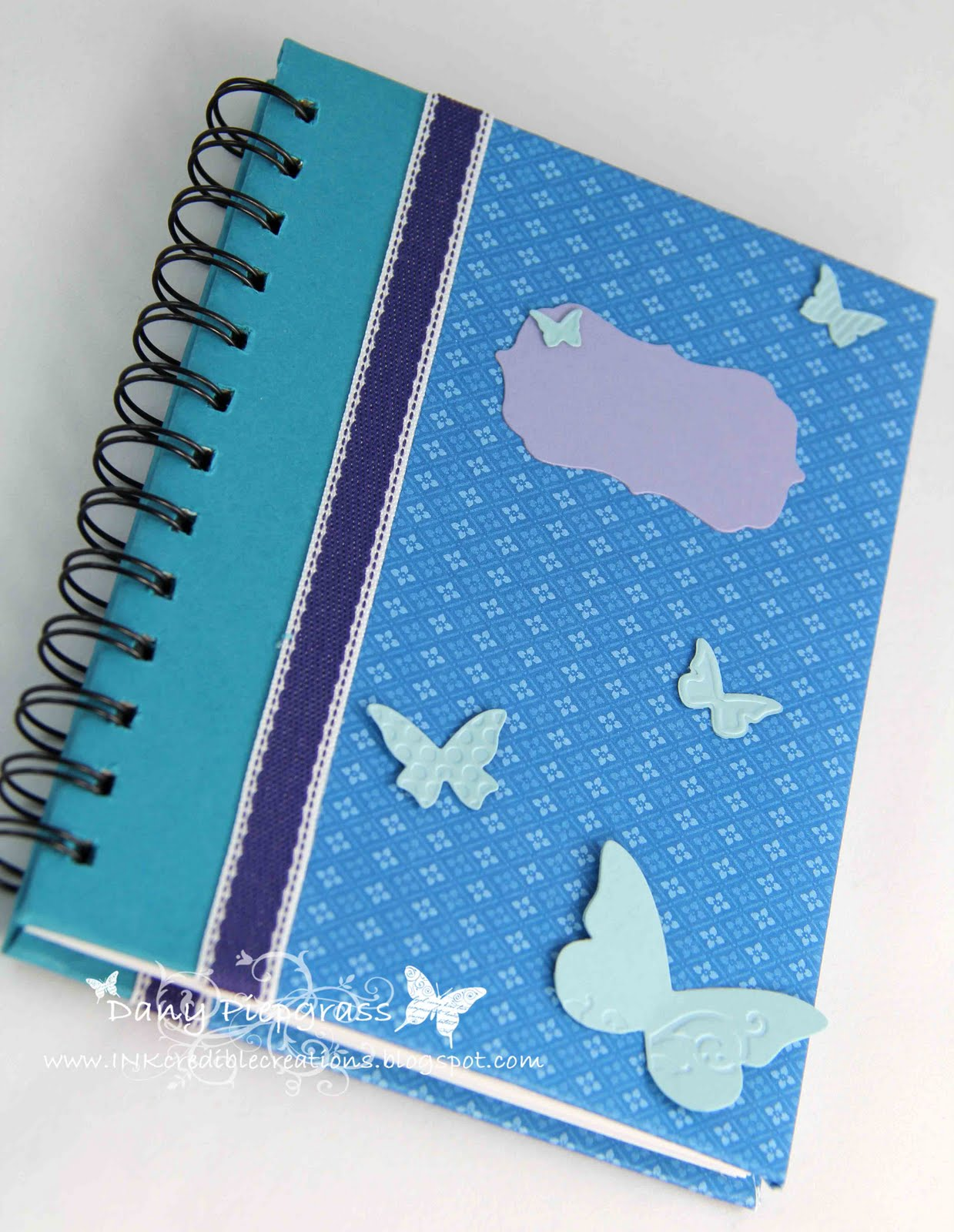 Inkcredible creations roomie gifts for convention for Back to school notebook decoration ideas