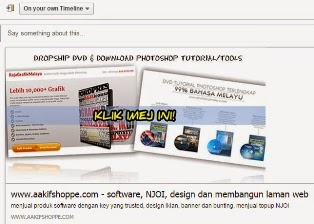 dropship produk photoshop