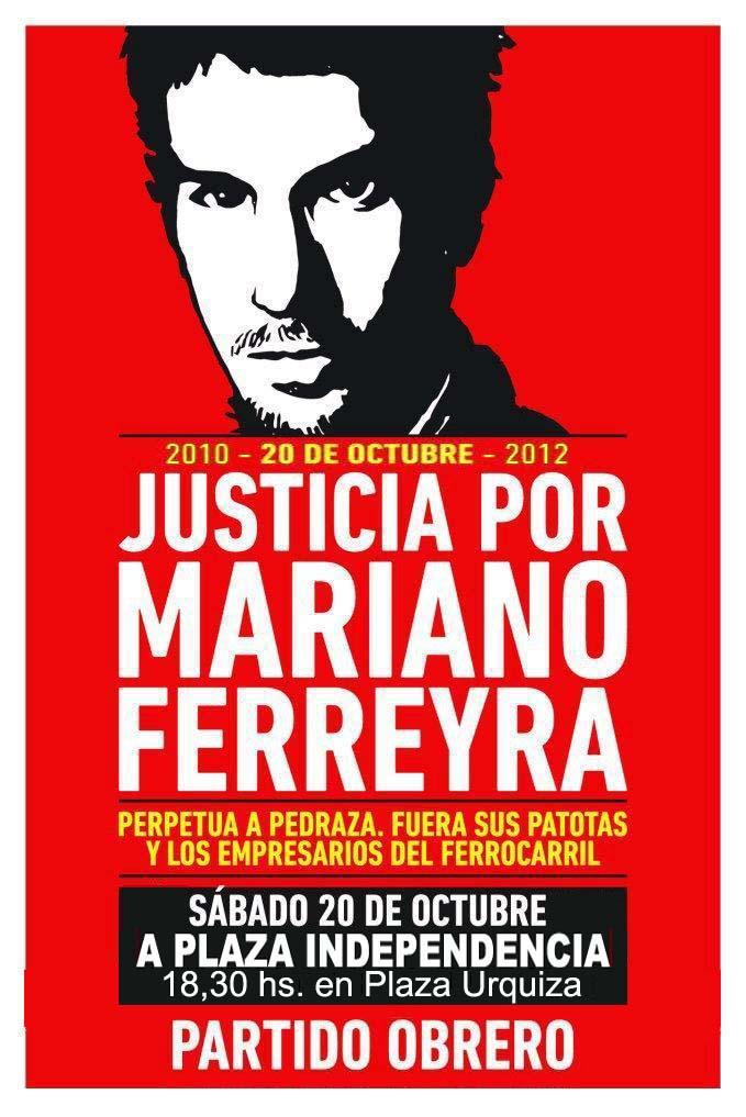 Segundo Aniversario de la muerte de Mariano Ferreyra