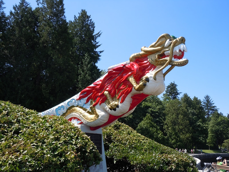SS Empress dragon figurehead Vancouver