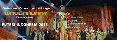 Puteri Indonesia 2013 Whulandary Herman
