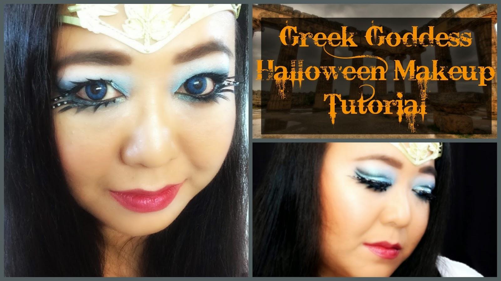 MakeupMaiWorld: Greek Goddess Halloween Makeup Tutorial