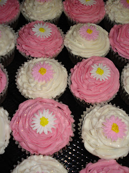 Flower Power Cupcakes