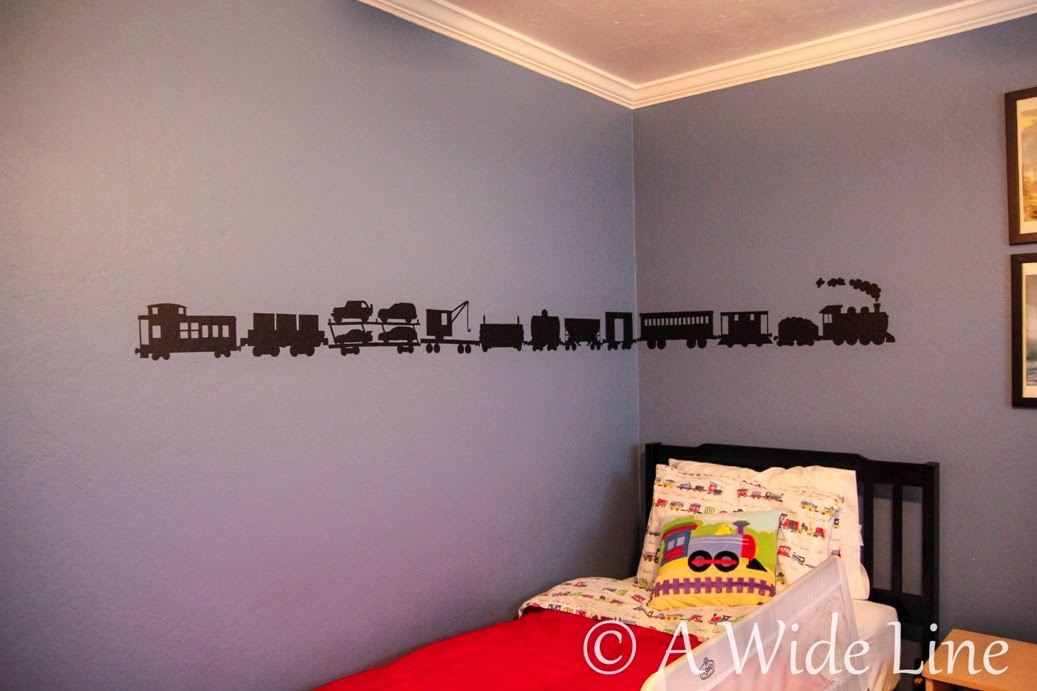 My Etsy Shop Is Open! (And How To Make Your Own Train Wall Decals) Part 54