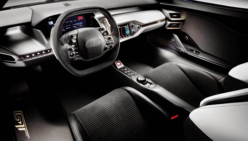 2017 Ford GT Interior
