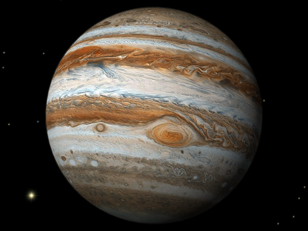 gambar planet jupiter