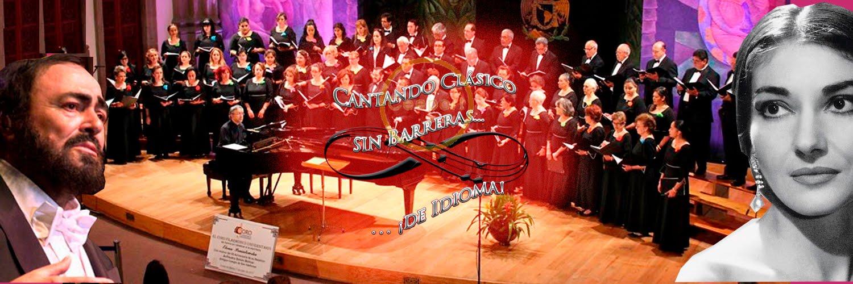 Cantando clásico sin barreras... ¡de idioma!
