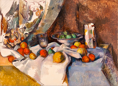 Still life with Apples (1895-98, titre original : Nature morte)  Paul Cézanne