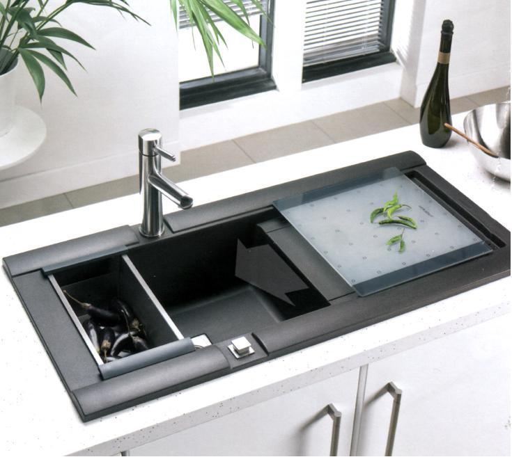 Unusual Kitchen Sinks : Custom Size Unique Round Kitchen Sink Acrylic Stone Kitchen Sink For ...