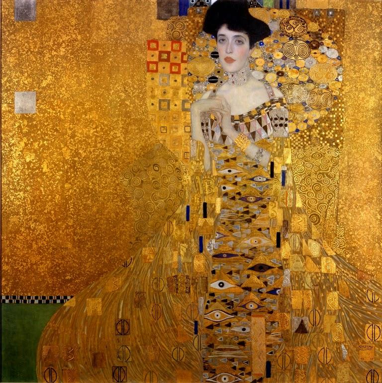 Густав Климт Портрет Адели Блох-Бауэр I, 1907