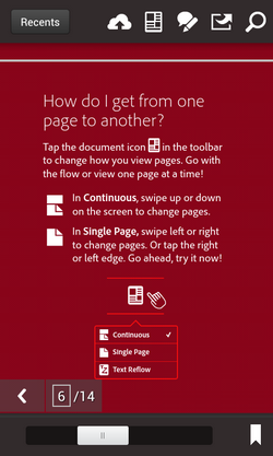 Adobe-pdf-reader-for-android