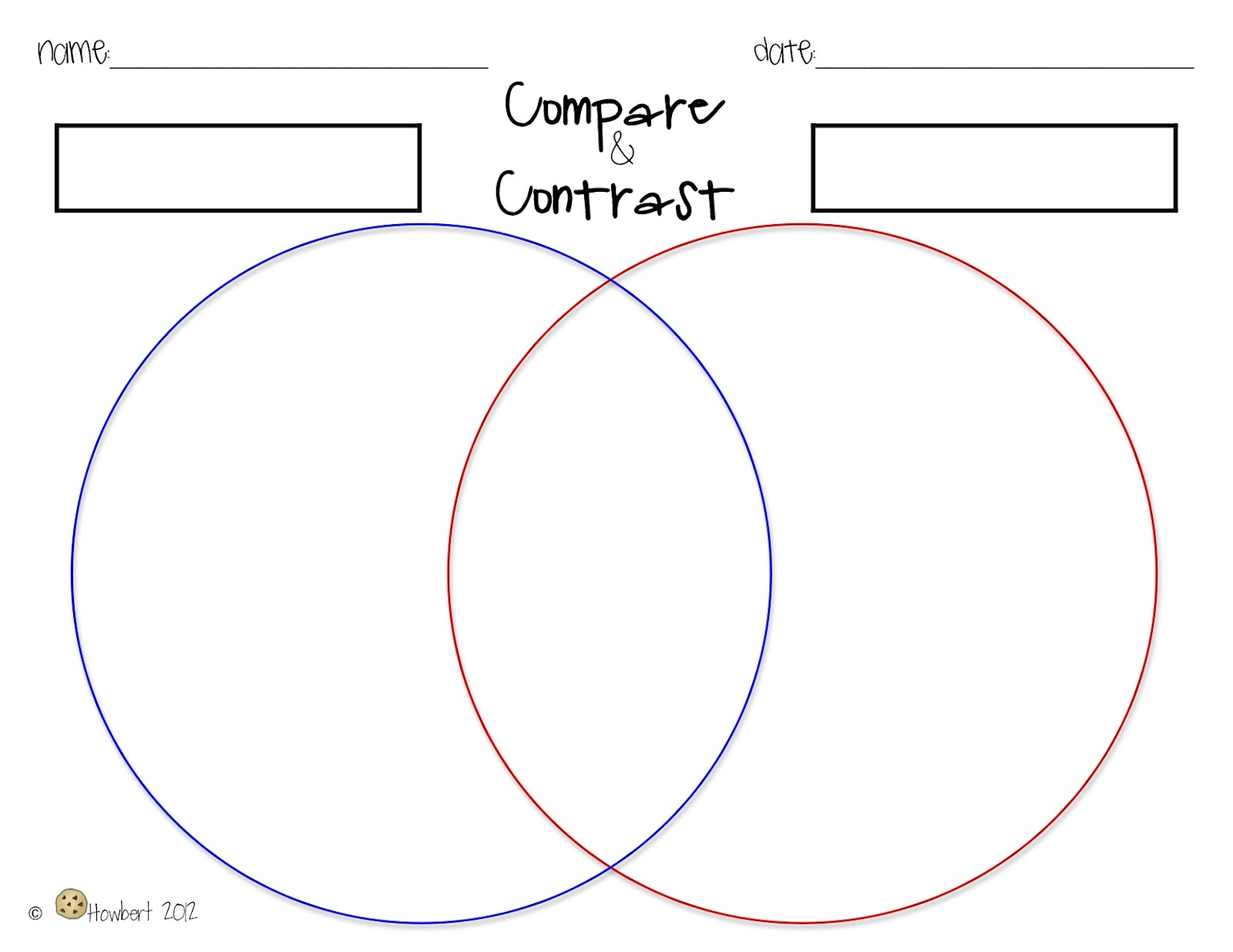 ways to compare and contrast