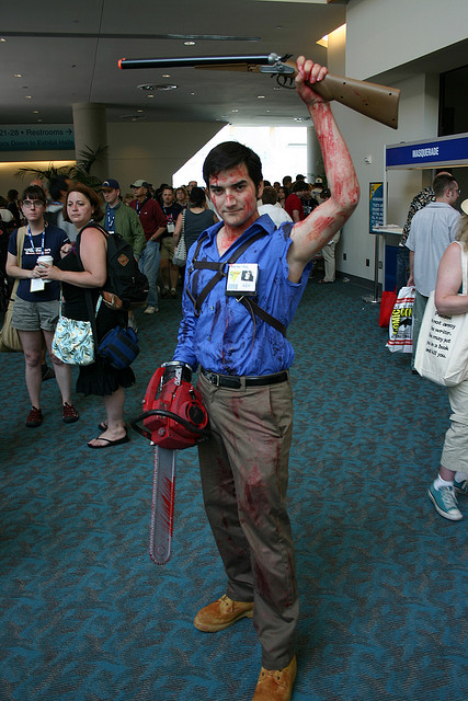 Cosplay para Halloween Ash Evil Dead