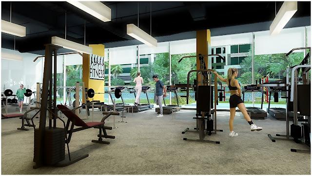 Phòng Gym căn hộ Imperia Garden