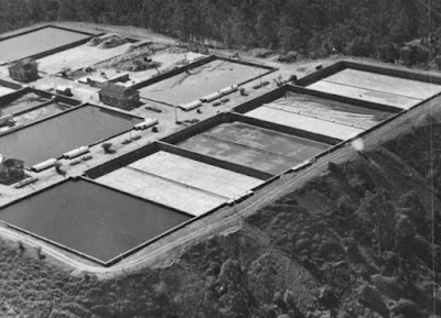 Aerial view of Holts Hill Water Treatment Plant
