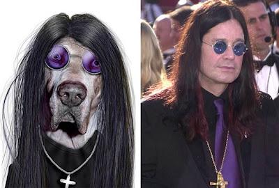 Ozzy Osbourne con Perrito