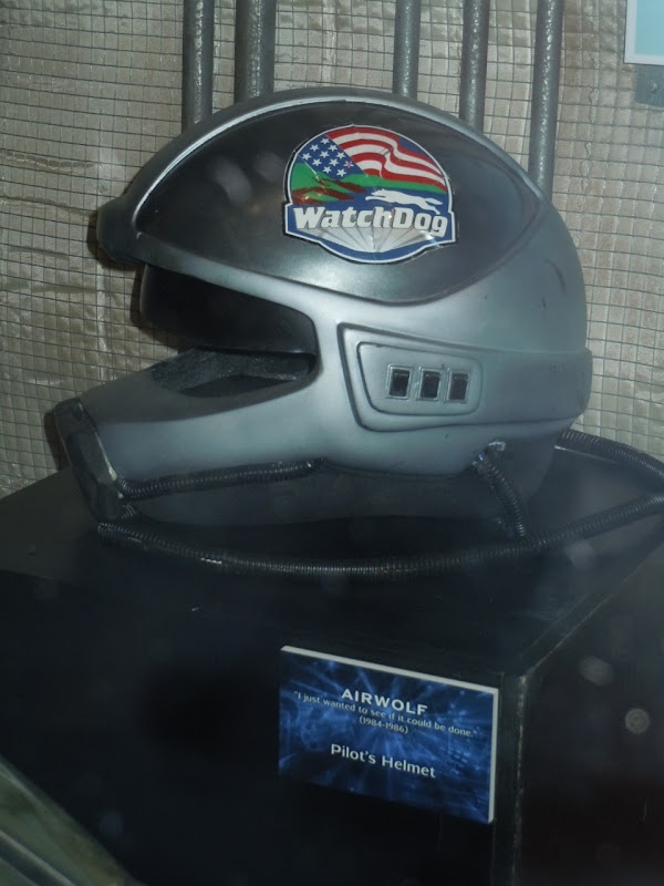 Airwolf TV pilot's helmet