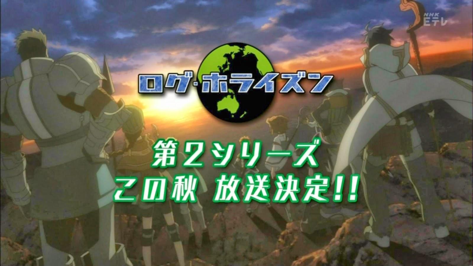 [ Info-Anime ] Log Horizon 2nd Season Akan Tayang Di Musim Gugur Tahun Ini