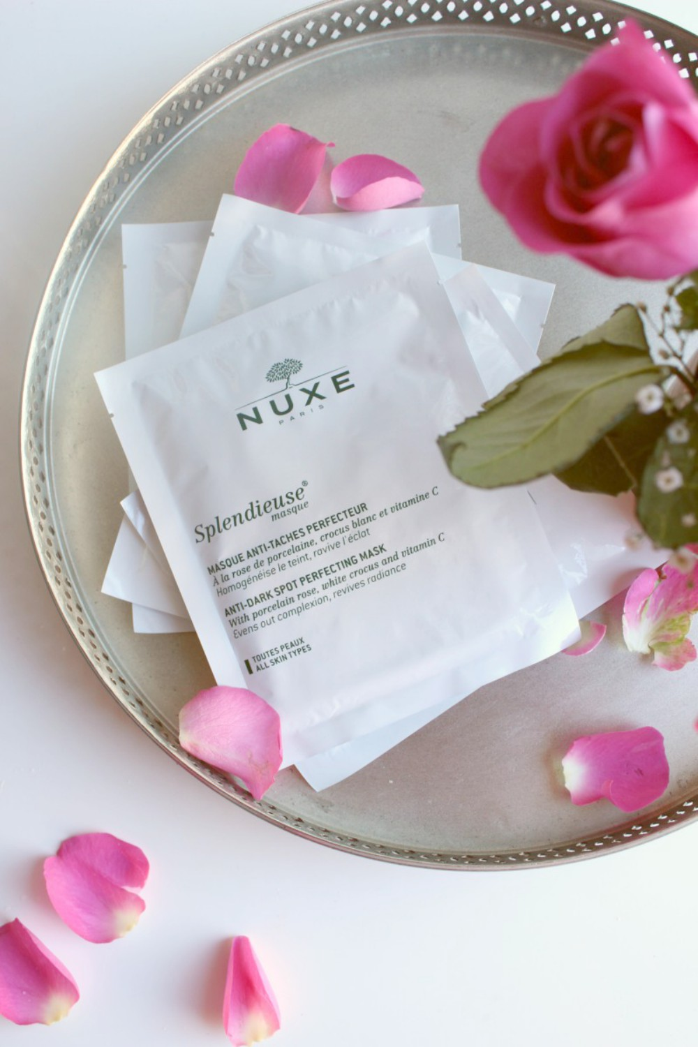 Nuxe Anti Dark Spot Perfecting Masks Review
