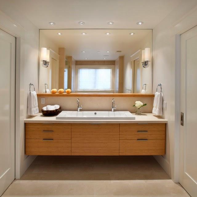 Gương phản chiếu cá tính của phòng tắm