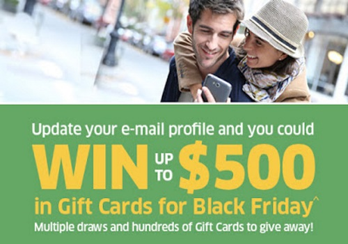 The Source Win Gift Cards for Black Friday Contest