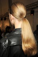 Перфектна конска опашка Christian Dior пролет-лято 2013