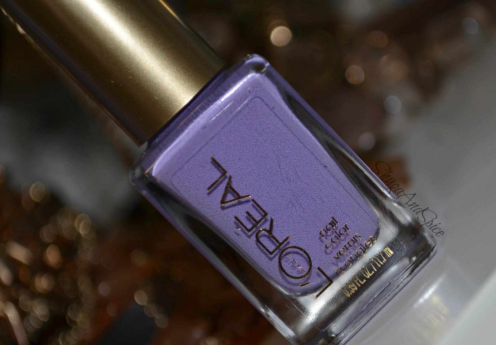Shuga and Spice: L\'Oréal Colour Riche \'Royalty Reinvented\' Polish