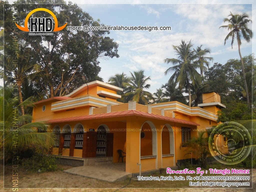 Kerala house renovation before and after indian house Old home renovation in kerala