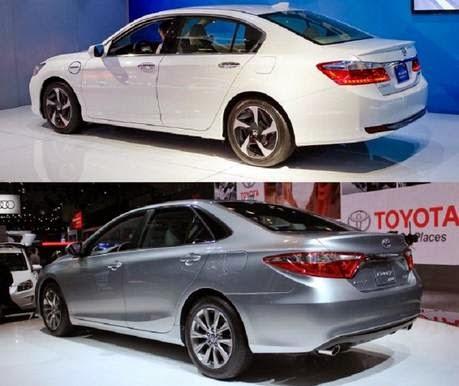 2015 Toyota Camry vs. 2015 Honda Accord