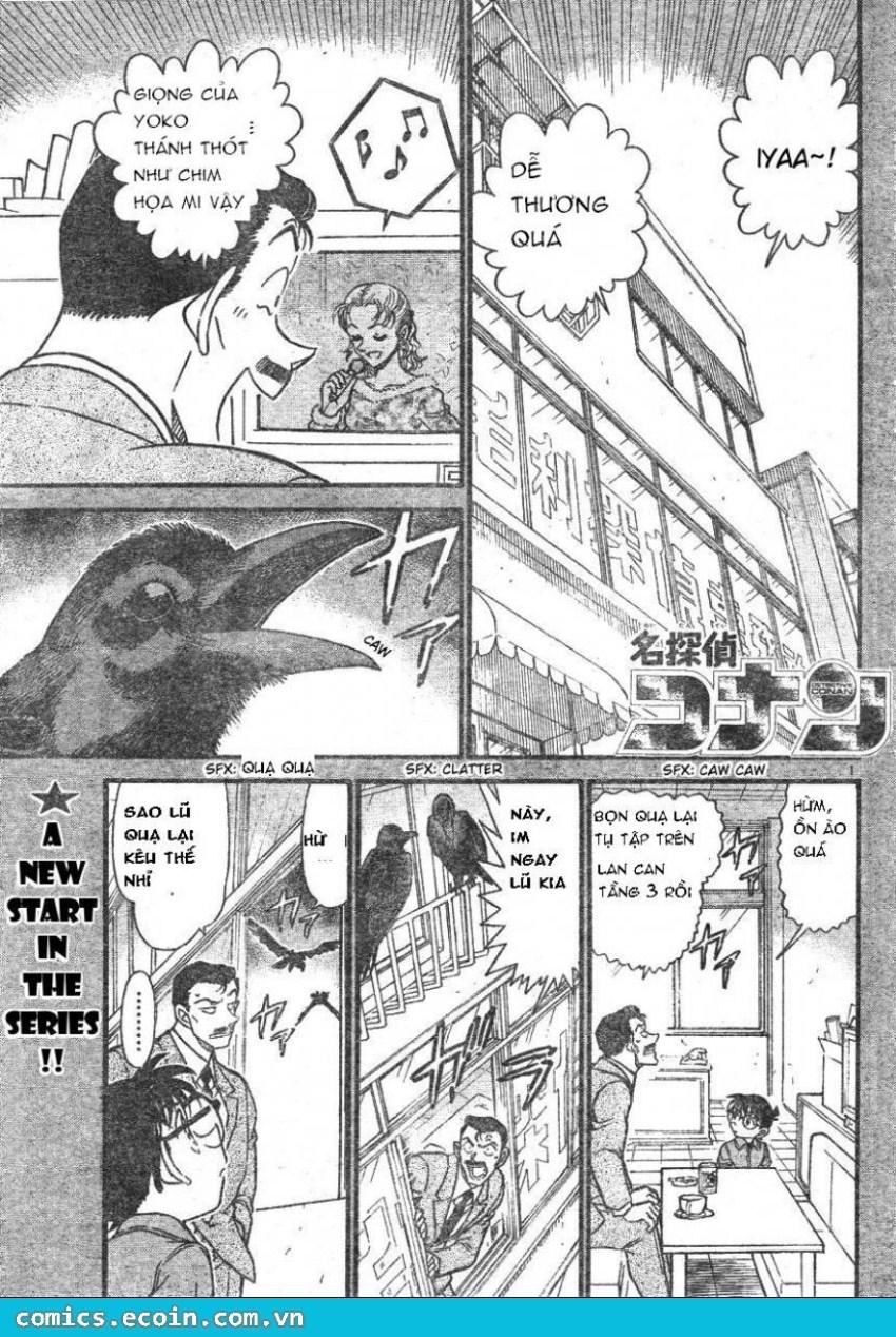 Detective Conan - Thám Tử Lừng Danh Conan chap 595 page 1 - IZTruyenTranh.com