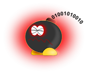 A logic bomb is a piece of code intentionally inserted into a software . (logic bomb)