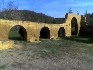 Ruta de Santa María de Dulcis en Buera (Somontano, Huesca, Aragón, España)