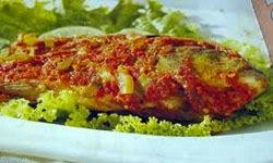 Resep praktis (mudah) membuat masakan pepes ikan mas kemangi enak, lezat
