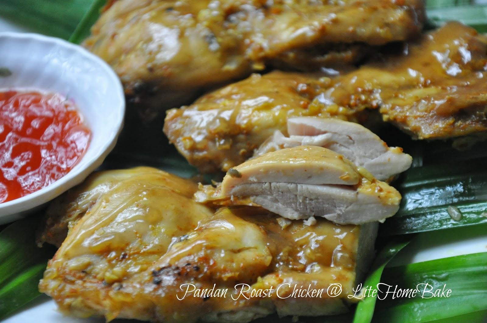 Pandan Chicken, the Lazier Way ~ Lite Home Bake